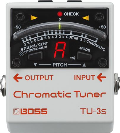 Boss TU-3S Chromatic Tuner Pedal