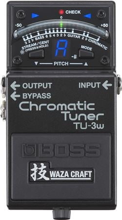 Boss TU3W Waza Craft Chromatic Tuner Pedal