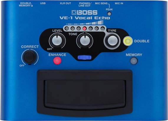 Boss VE1 Vocal Echo Effects Pedal