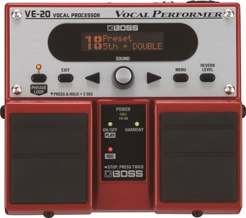 Boss VE20 Vocal Performer Processor Pedal