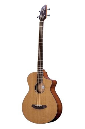 Breedlove Solo BJ350 CME4 AE Bass Guitar with Case