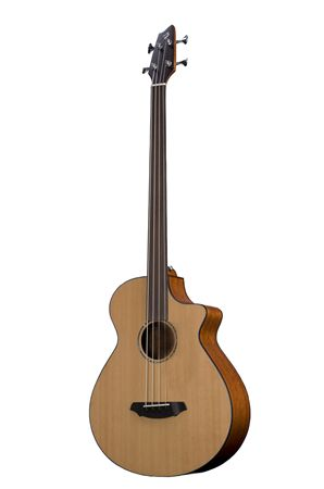 Breedlove Solo BJ350 CME4 Fretless Acoustic Bass with Case