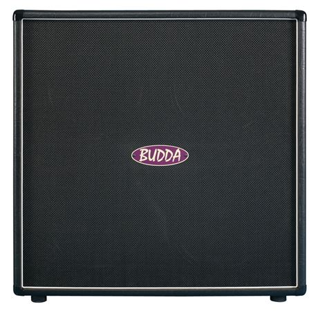Budda 412 Closed Back 300 Watt Guitar Speaker Cabinet