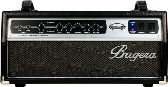 Bugera BVV3000 Infinium Tube Bass Amplifier Head