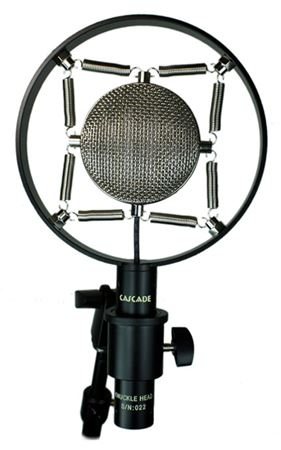 Cascade Knuckle Head Short Ribbon Mic with Lundahl Transformer