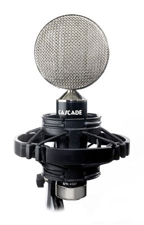 Cascade FatHeadII Short Ribbon Mic with Lundahl Transformer
