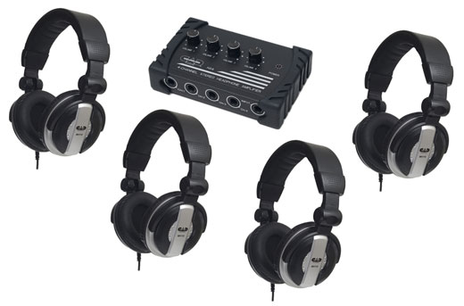 CAD HP110 Headphone and Headphone Amplifier Package