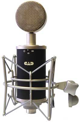 Cad Audio Trion8000 Multi Pattern Tube Condenser Microphone $50 Gift