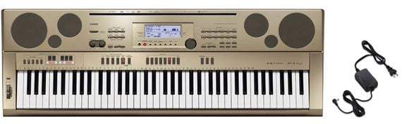 Casio AT5 76 Key Oriental Keyboard with Power Supply