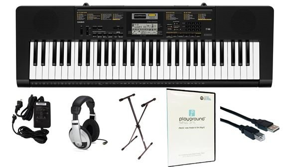 Casio CTK2400 Quincy Jones Pack