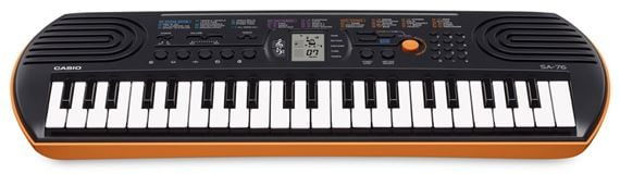 Casio SA76 44 Key Mini Personal Keyboard
