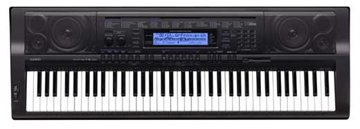 Casio WK500 76 Key Personal Keyboard with Power Supply