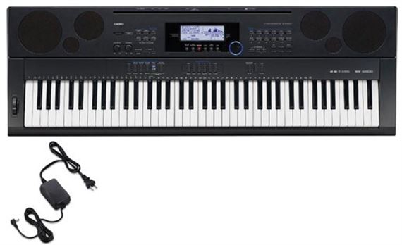 Casio WK6500 76 Key Workstation Keyboard