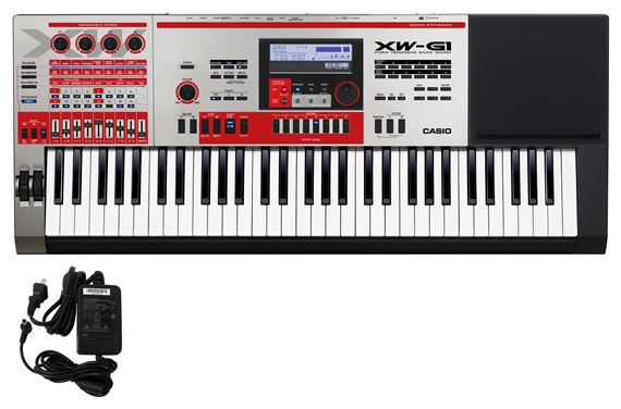 Casio XWG1 61 Key Keyboard Groove Synthesizer
