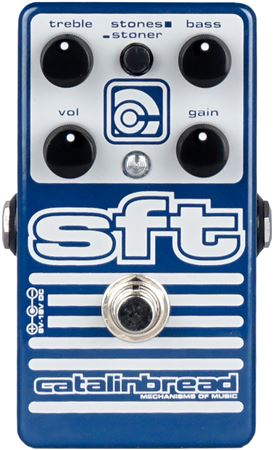 Catalinbread SFT Foundation Bass Guitar Overdrive Pedal