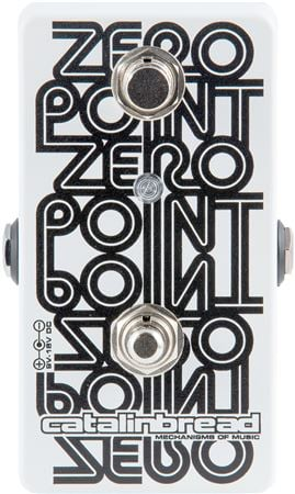 Catalinbread Zero Point Flanger Guitar Pedal