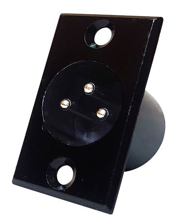 CBI CD3M XLR Male Panel Mount