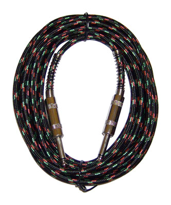 CBI Cloth Covered Guitar Instrument Cable