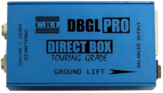 CBI DBGL-JT Direct Input Box with Jenson transformer and Ground Lift