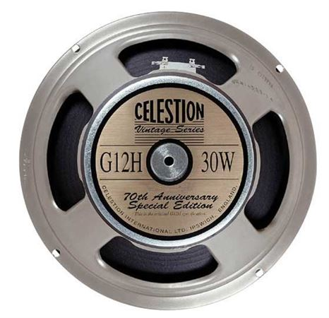 Celestion G12H Anniversary 12 Inch Guitar Speaker 30 Watts