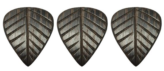 Clayton Leaf Wedge Wood Guitar Picks 3 Pack