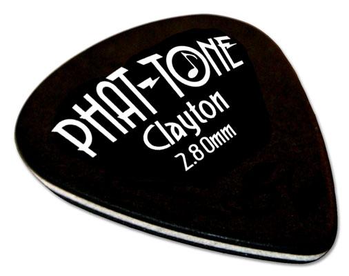 clayton phat tone standard bass guitar picks 3 pack. Black Bedroom Furniture Sets. Home Design Ideas