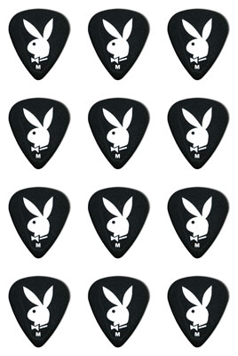 Clayton Playboy Standard Medium Guitar Picks 12 Pack