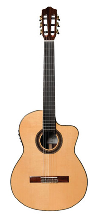 Cordoba Iberia C7CE SP IN Classical Acoustic Electric Guitar