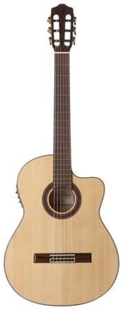 Cordoba GK Studio Negra Flamenco Acoustic Electric with Gig bag
