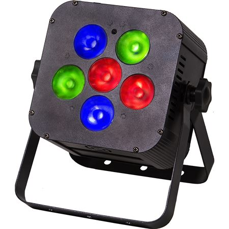 Colorkey MobilePar Hex 6 Stage Light in Black