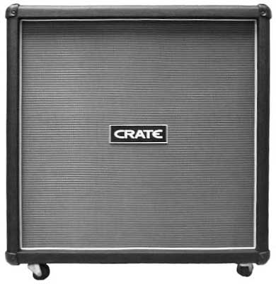 Crate FW412B FlexWave 4x12 Straight Guitar Cabinet