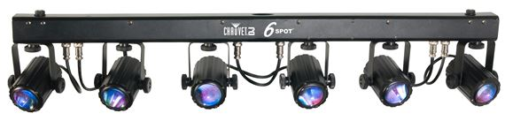 Chauvet DJ 6SPOT LED Stage Light