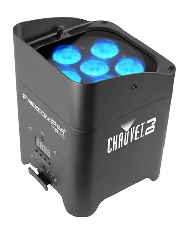 Chauvet DJ Freedom Par Tri 6 Wireless Stage Light