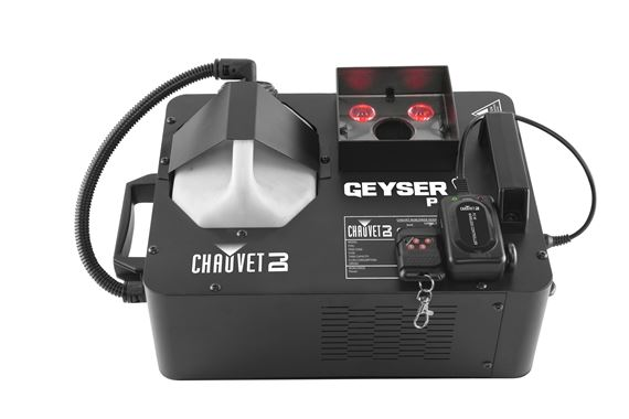 Chauvet DJ Geyser P4 Fog Machine with Lighting Effects
