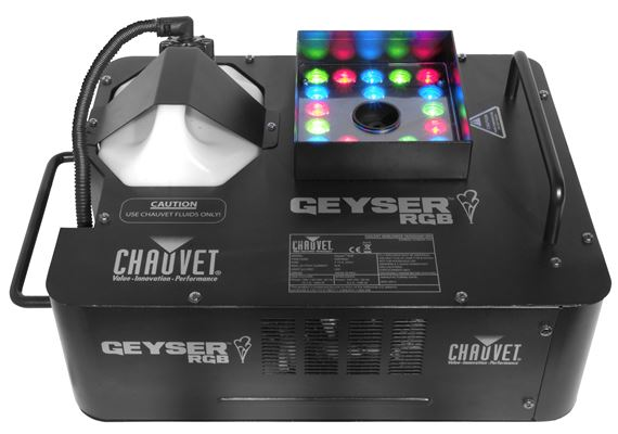 Chauvet DJ Geyser RGB Fog Machine with Lighting Effects