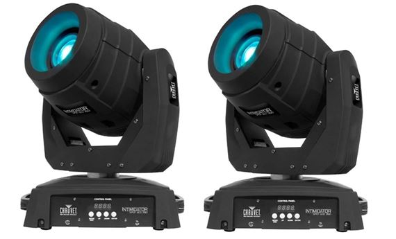 Chauvet intimidator spot led 350 75w motorized moving head lighting fx.