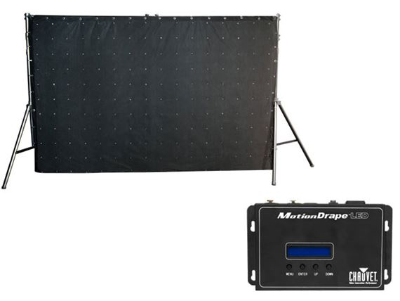 Chauvet DJ MotionDrape LED DJ Backdrop Lighting Effect