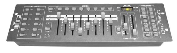 Chauvet DJ Obey 40 DMX Lighting Controller