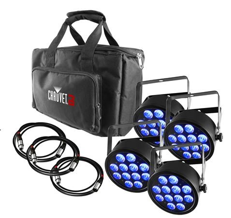 Chauvet DJ Slimpack T12 USB Stage Lighting Package