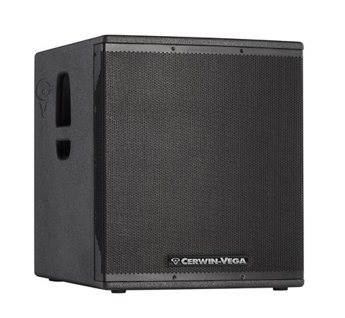 "Cerwin Vega CVX18S 18"" 2000 Watt Powered Subwoofer"