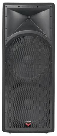 "Cerwin-Vega INT252V2 Intense Dual 15"" 2 Way 700 Watt Loudspeaker"