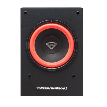 "Cerwin-Vega SL10S 10"" 150 Watt Powered Home Theater Subwoofer"