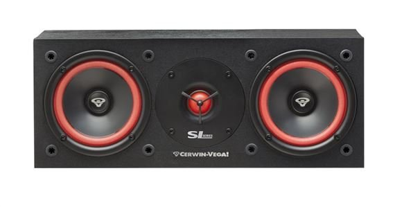 "Cerwin-Vega SL25C Dual 5.25"" Passive 2-Way Center Channel Loudspeaker"