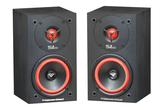 "Cerwin-Vega SL5M 5.25"" 125 Watt 2-Way Bookshelf Loudspeaker - Pair"