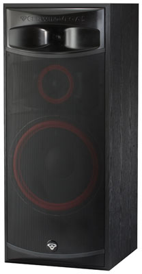 Cerwin vega xls15 15 3 way 400 watt passive floor tower for 15 inch floor speakers