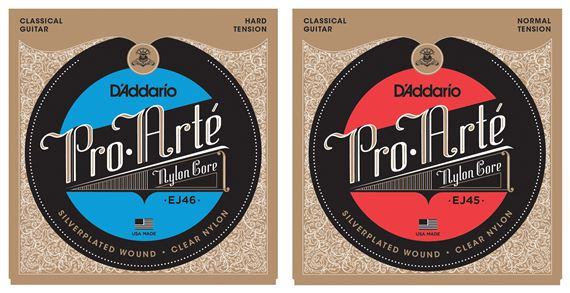 D'Addario EJ45 Pro Arte Classical Guitar Strings Normal P028-43