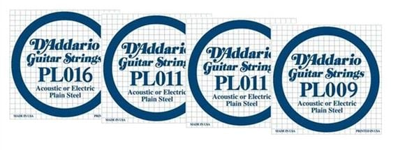 Daddario Electric Solidbody Ukulele String Set