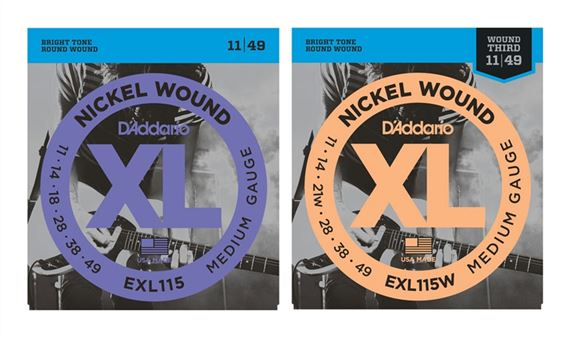D'Addario EXL115 XL Blues Jazz Rock Electric Guitar Strings