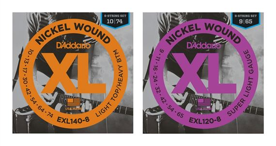 D'Addario EXL120-8 Nickel Wound 8-String Electric Gutiar Strings