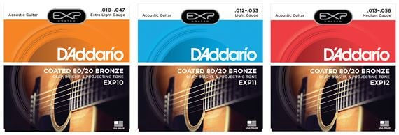 DAddario EXP Extended Play 80/20 Brz Acoustic Strings